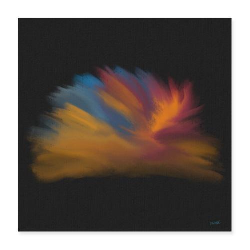 Noisy Plume - Poster 40x40 cm