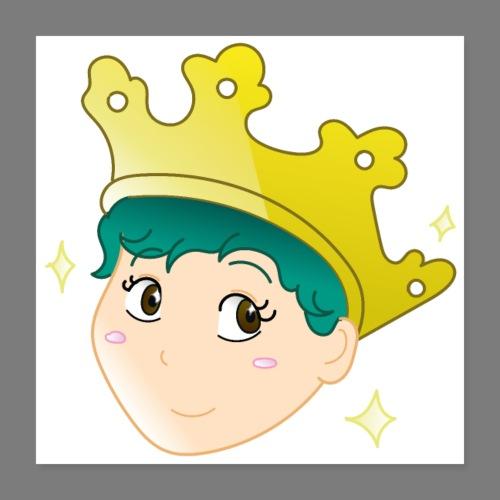 Wear a Crown - Poster 16 x 16 (40x40 cm)