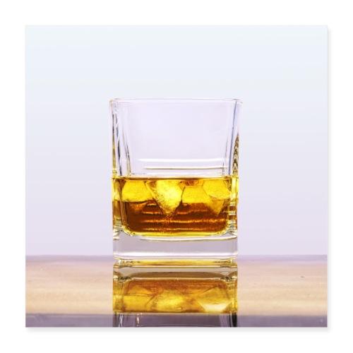 Whisky - Plakat o wymiarach 40 x 40 cm