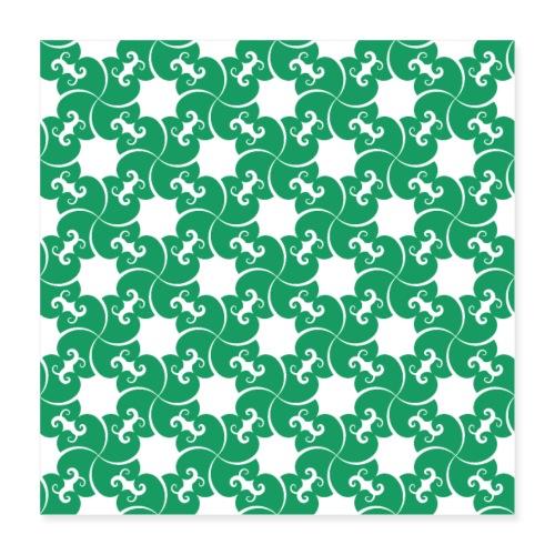 Saint Patrick - Poster 40 x 40 cm