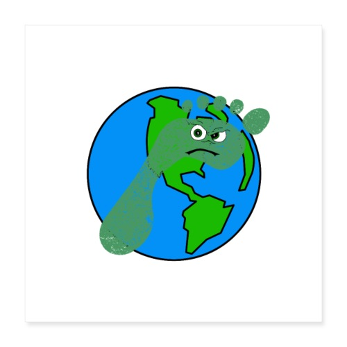 Earth Day Every Day - Poster 40x40 cm