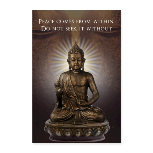 Peace from Within - Poster 24 x 35 (60x90 cm)