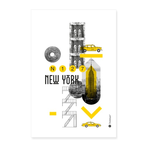 NEW YORK - Poster 60 x 90 cm