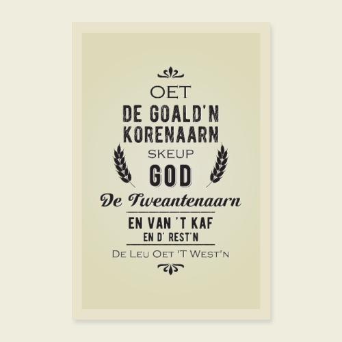 Tweantenaarn - Poster 60x90 cm