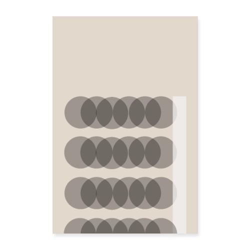 kreise - Poster 60x90 cm