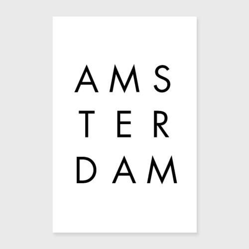 AMSTERDAM - Poster 60 x 90 cm