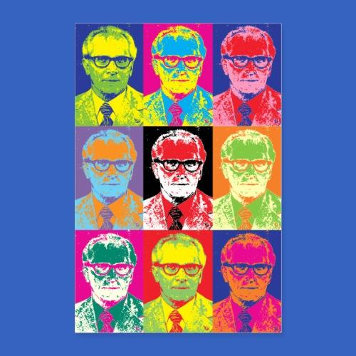 Erich Honecker - DDR im PopArt Stil - Poster 60x90 cm