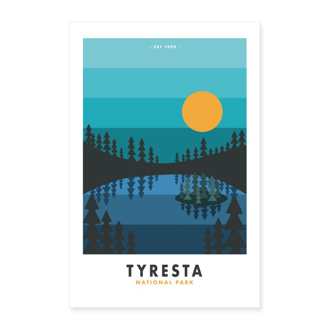 Tyresta National Park Poster