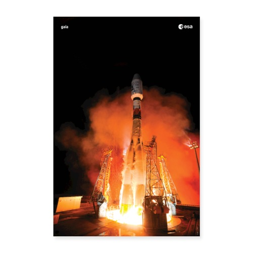 Gaia - Launch - Poster 24 x 35 (60x90 cm)