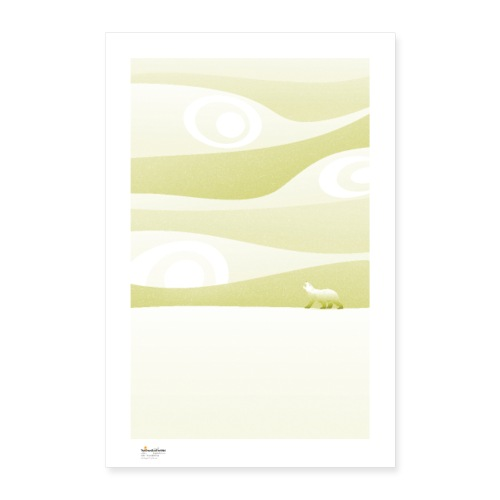 Calm / monochrome - Póster 60x90 cm