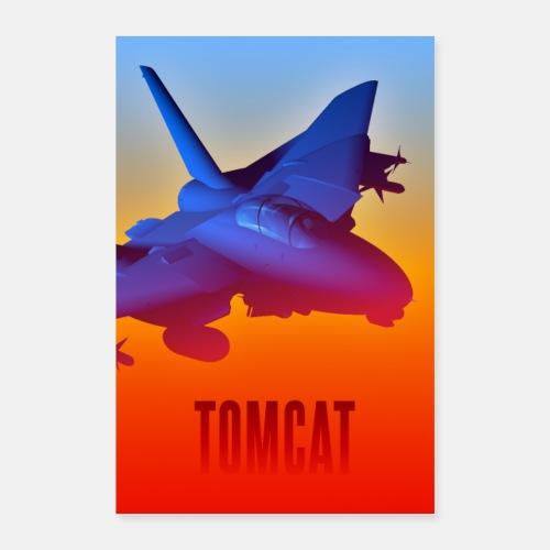 F-14 Tomcat poster - Poster 24 x 35 (60x90 cm)