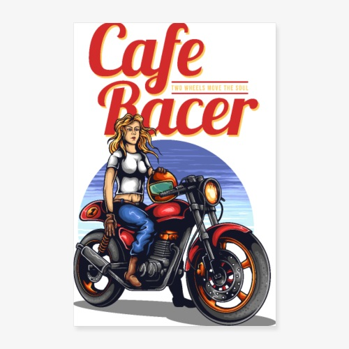 Cafe Racer - Poster 60 x 90 cm