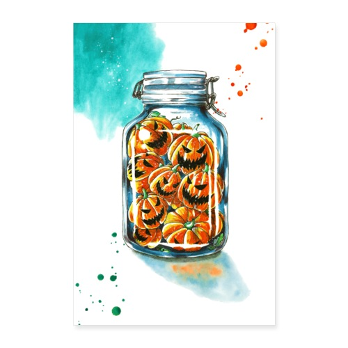 pickled pumpkins - Poster 24 x 35 (60x90 cm)
