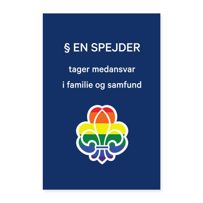 Regnbuespejderplakat nr5