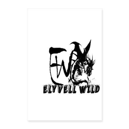 ELYVELL WILD - Poster 60 x 90 cm