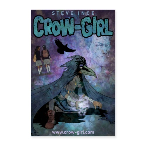 Crow-Girl Poster 1 - Poster 24 x 35 (60x90 cm)
