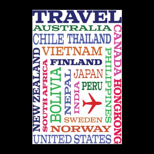 Travel Places design - Juliste 60x90 cm