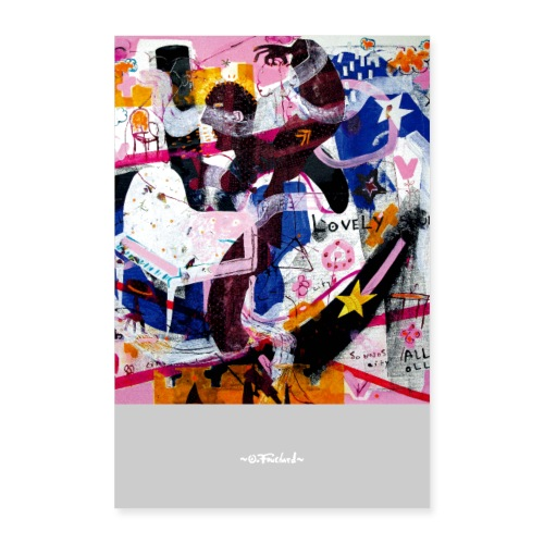 Music Oll by Ollivier Fouchard - Poster 60 x 90 cm