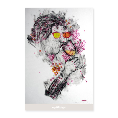 Wine series 2 - 60x90 cm O. Fouchard - Poster 60 x 90 cm