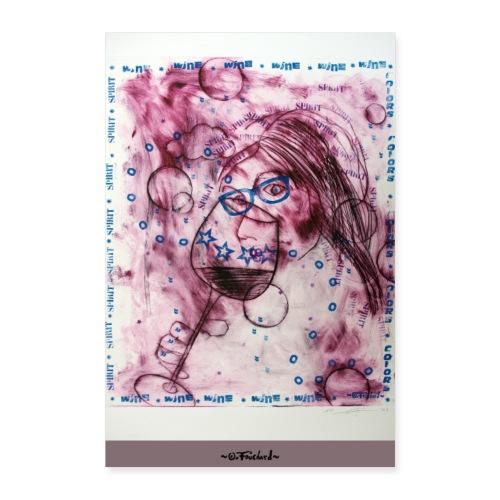 Wine series 5 - 60x90 cm O. Fouchard - Poster 60 x 90 cm