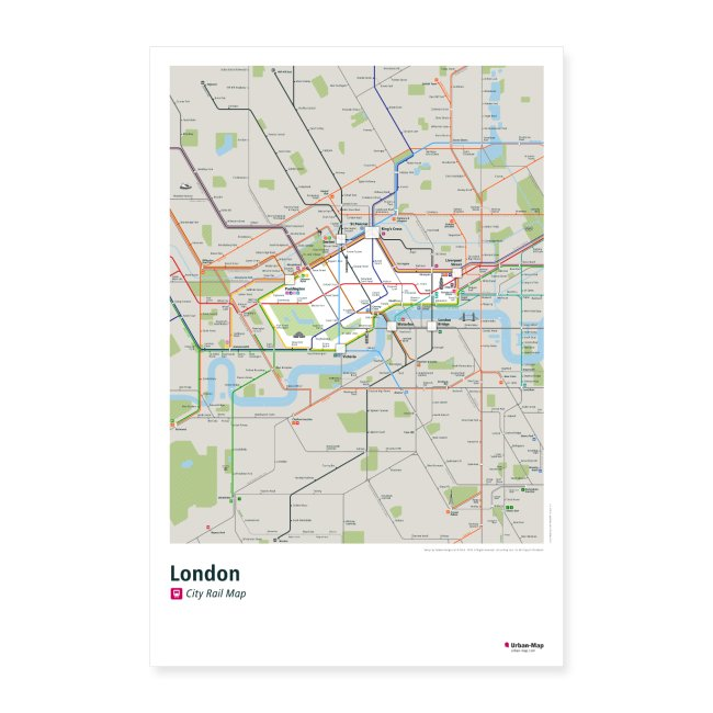 London Rail Map