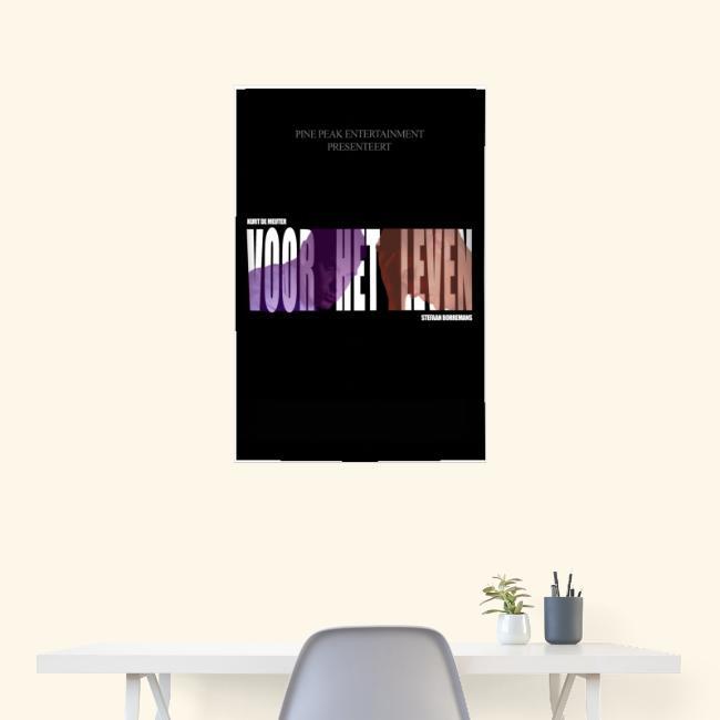 Voor Het Leven Officiele Poster