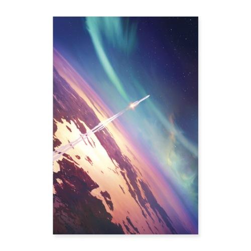 Ariane 6 by Sylvain Sarrailh - Poster 24 x 35 (60x90 cm)