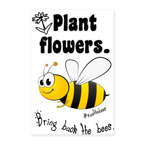 Bees8-2 Bringt die Bienen zurück!   Bookrebels - Poster 24 x 35 (60x90 cm)