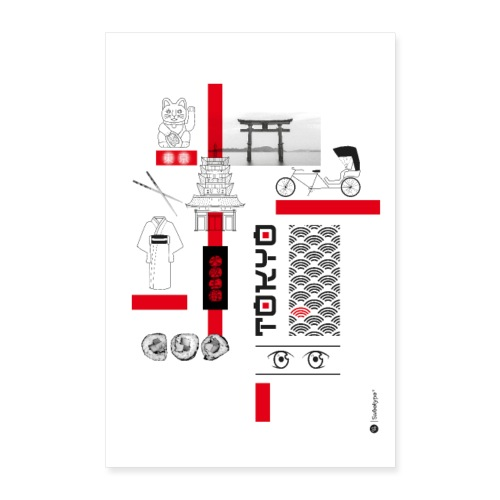 TOKYO - Poster 60 x 90 cm