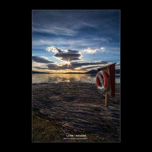 Lund - Fauske - Poster 60x90 cm