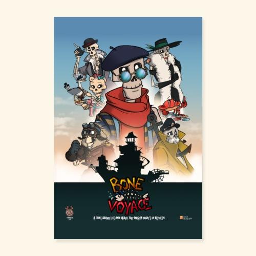 Movie Stijl Poster - Poster 24 x 35 (60x90 cm)