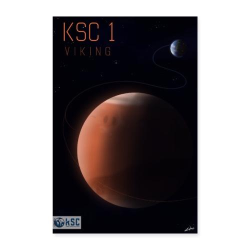 KSC1 - Viking - Visuel officiel du challenge - Poster 60 x 90 cm
