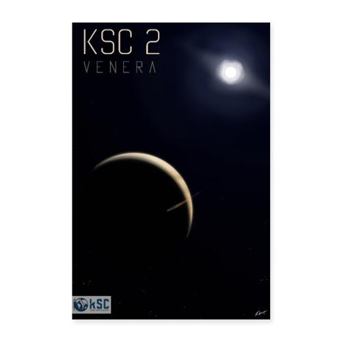 KSC2 - Hayabusa2 - Visuel officiel du challenge - Poster 60 x 90 cm