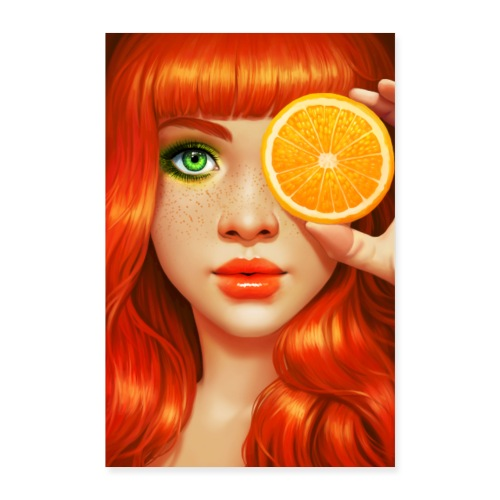 RedOrange - Poster 60x90 cm