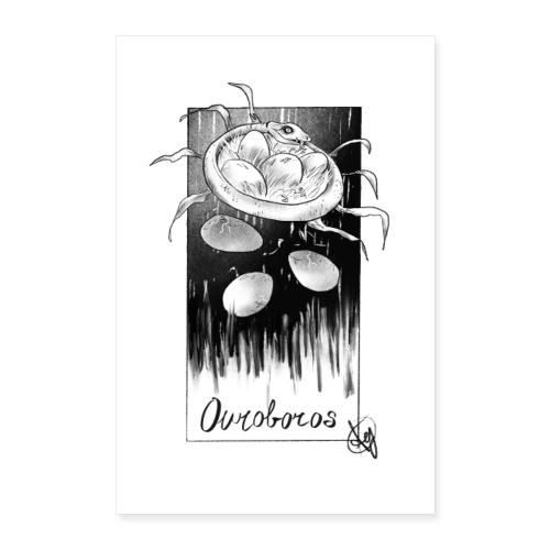 Uroboro - Poster 60x90 cm