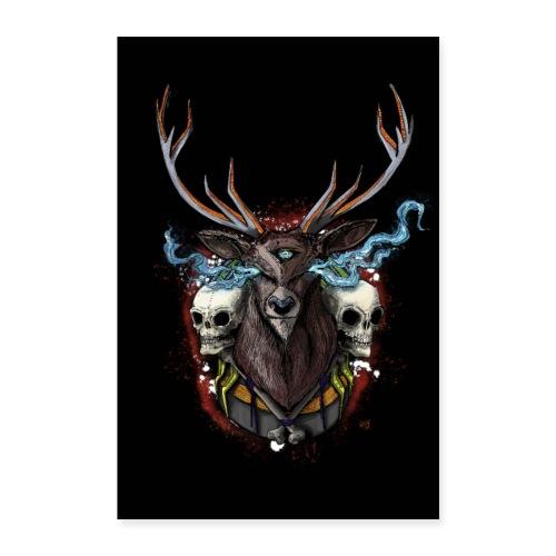 Deer - POSTER - Poster 24 x 35 (60x90 cm)