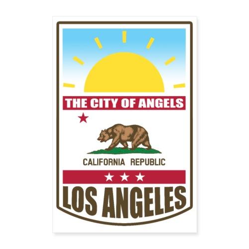 Los Angeles - California Republic - Poster 24 x 35 (60x90 cm)