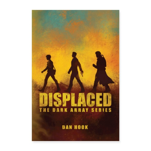 Displaced Original Cover Poster - Poster 24 x 35 (60x90 cm)
