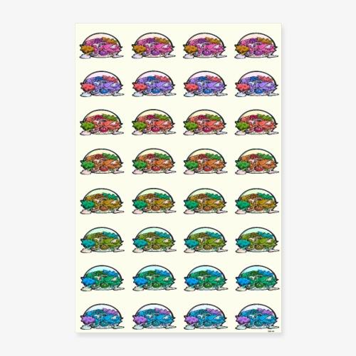 Kebabs (FondClair) - Poster 60 x 90 cm