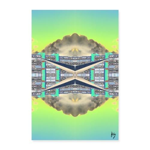 Plattenstar - Poster 60x90 cm