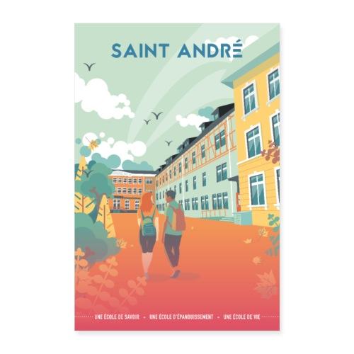 Poster Vie À Saint André 108 - Poster 60 x 90 cm