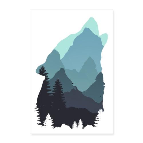 Wolf - Poster 24 x 35 (60x90 cm)