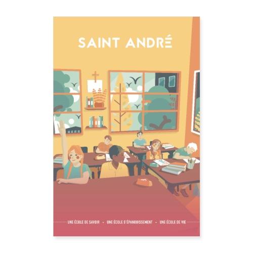 Poster Vie À Saint André 109 - Poster 60 x 90 cm