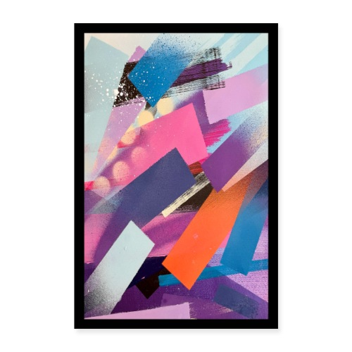 Olavi Viheriälä - Lines 2 - Print - Poster 24 x 35 (60x90 cm)