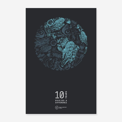 VGS Poster Earth (10 Years Making A Difference) - Poster 60x90 cm