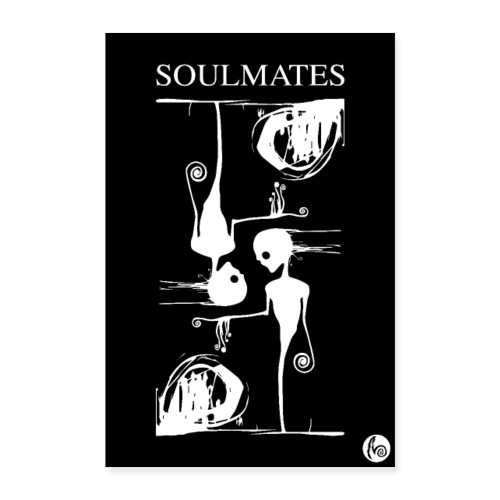 SOULMATES Poster - Poster 60x90 cm