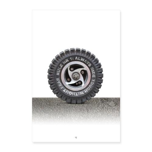 toughwheel - Poster 60x90 cm
