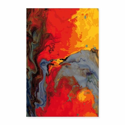 Magma - Poster 60x90 cm