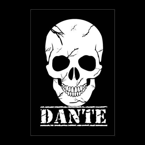 Skull Of Death Poster Dante - Poster 60x90 cm