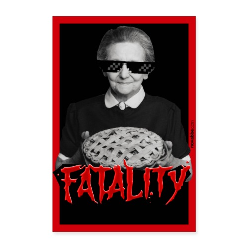 Fatality - Poster 60x90 cm